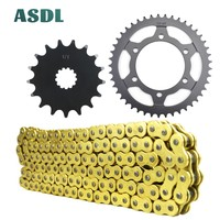 525 17T 45T Motorcycle motor Transmission Chain and front rear sprocket set for SUZUKI GSX R750 Moto GP GSX R 750 2011 2018