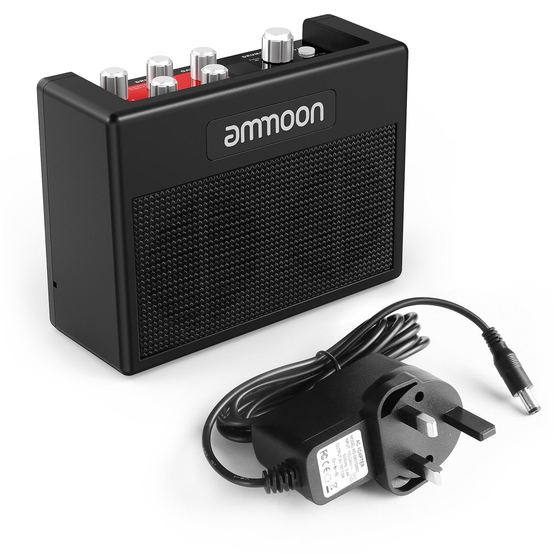 buy ammoon pockamp portable guitar amplifier amp built in multi effects 80 drum. Black Bedroom Furniture Sets. Home Design Ideas