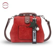 Female Doctor Crossbody Handbag Women Handbag Leather Shoulder Bag Star Pendant Tassel Rivets Casual Famous Brand 3 Ways Usage все цены