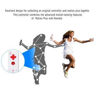 Image 4 - Contrôleur de manette à distance sans fil uilt in Motion Plus pour nintention Wii Nunchuck pour nintention Wii télécommande Joystick Joypa
