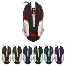 New S100 Mechanical Gaming Mouse Wired Opto-electronic 1200/1600/2400/3200/5500DPI Metal Bottom Plate Game Mice For PC Laptop rh2500 usb 2 0 wired 3200 2400 1600 800dpi led gaming mouse black green