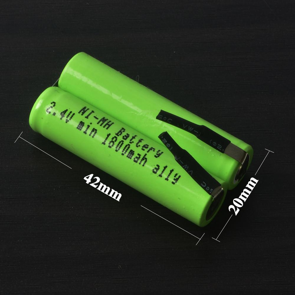 Remplacement Rasoir Batterie pour Philips Norelco AT620 S361 S5000 RQ360 RQ361 YS523 YS524 YS526 S560 S561 S5075 Rasoir batterie