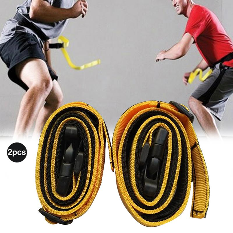 2PCS Adult Children Football Training Belt Speed Response Belt Waistband Basketball Agility Defensive Ability Training Equipment