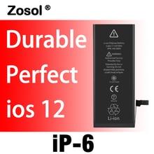 828b9fafcff 10pzs/paquete de batería de mejor calidad con cero ciclos para sustitución  de batería del 6 6G 1810mAh 3.82V, piezas de repuesto