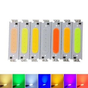 CLAITE 10pcs 2W COB LED Chip W