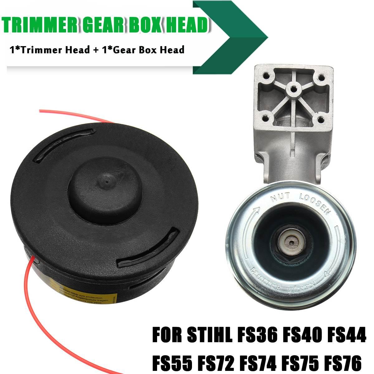 Weedeater Trimmer Gear Box Head Universal Mower Accessories for Stihl FR130 FR220 FR350 FR450 FR480 FS44 FS75 FS80 FS85 FS-KMWeedeater Trimmer Gear Box Head Universal Mower Accessories for Stihl FR130 FR220 FR350 FR450 FR480 FS44 FS75 FS80 FS85 FS-KM