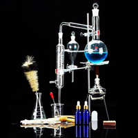 Distiller Limbeck Glass Distilled Water Device Chemical Teaching Instrument for Laboratory kids children educational science toy