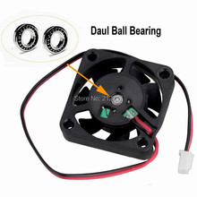 100 pieces  Gdstime Ball Bearing 5V 40mm 4cm Cooling Fan x 10mm Computer Cooer PC Laptop Cooler