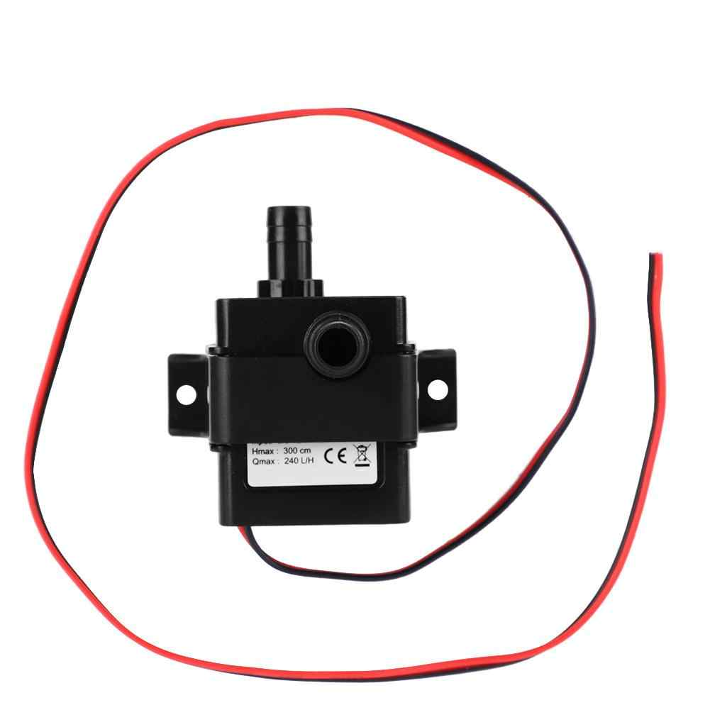 12V DC Water Submersible Pump Ultra-Quiet Brushless Motor Tool For Garden Aquarium  Material Surpass Professional
