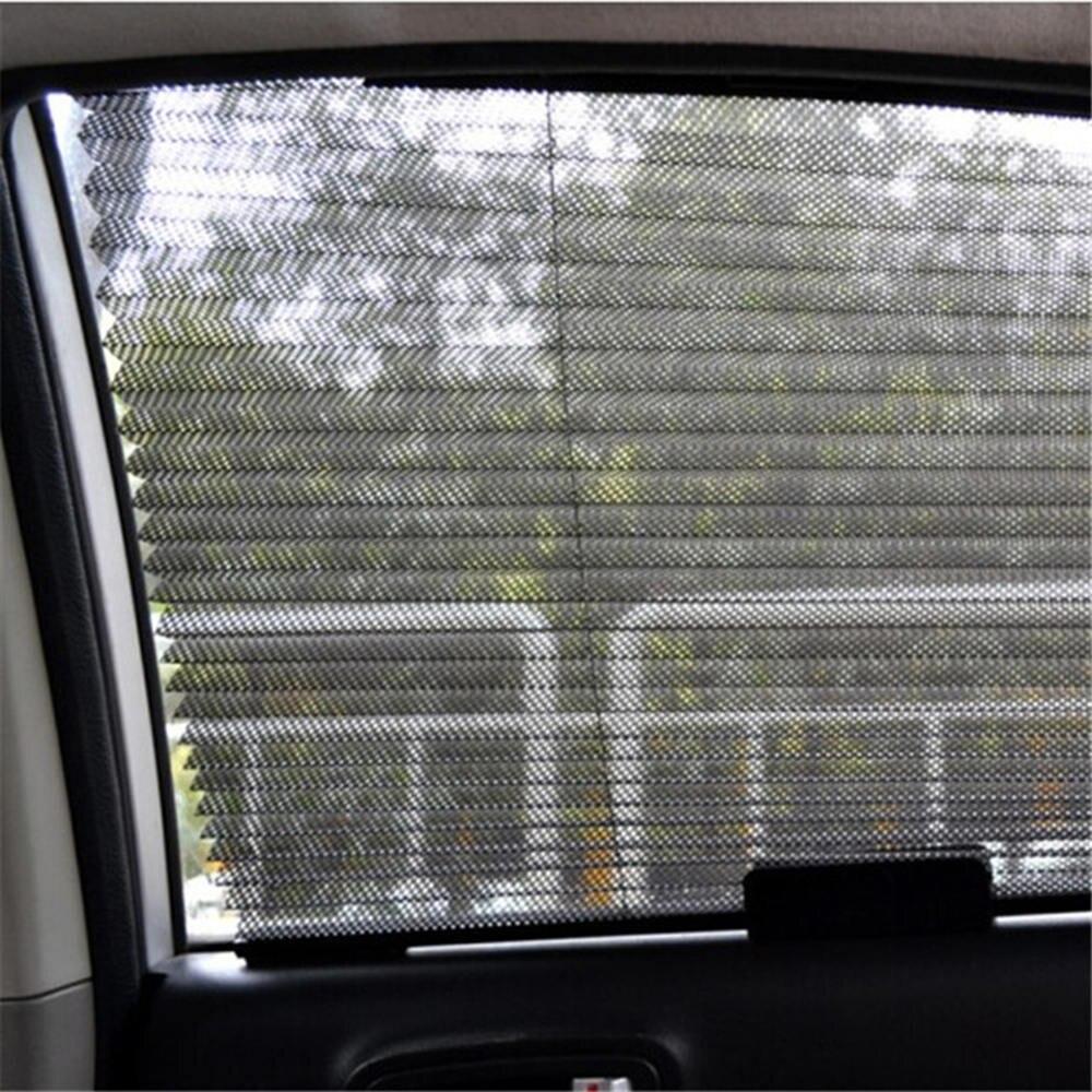 46x3x60cm Black Auto Car Retractable Curtain Side Window Shade Windshield Sun Shield Visorcar Sunshade Side Window