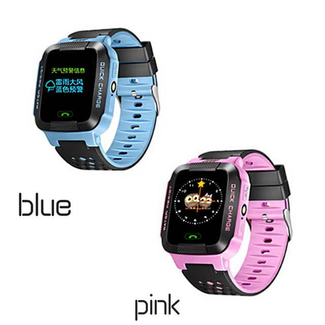 95dfc29555db Y21 Kids Watch Safety Smart Watch 1 44inch Touch Button Big Screen With  Flashlight LBS Positioning