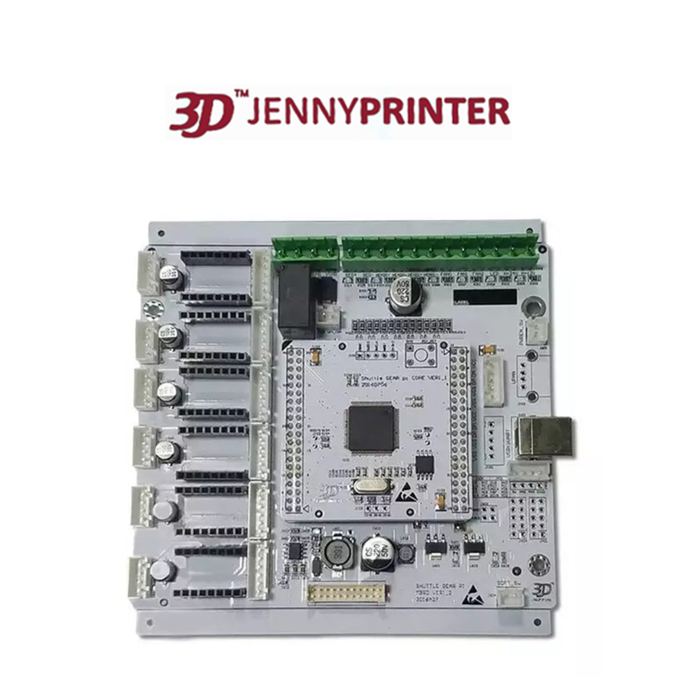 Jennyprinter4 3D Printer Mainboard with 4pcs Drv8825 Stepper Motor Drivers drv8825