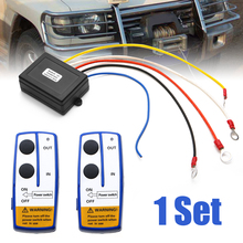 где купить 1 Set 12V 50ft Winch Wireless Remote Control Switch Handset Kit For Jeep ATV SUV UTV Car Electronic Accessories по лучшей цене