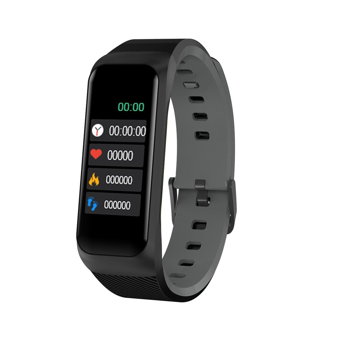 82192b89f182 Goral B07 Smart Watch pulsera impermeable presión arterial Monitor ...