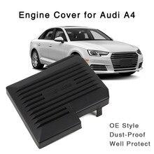 Couvercle de protection noir pour batterie de moteur, pour Audi A4 B9 8W A5 2017 2018 OE