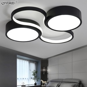 Image 3 - LED Chandeliers Light Modern Lamp Living Room Lighting art design Bedroom Kitchen Surface Mount Flush Panel Remote Control dero