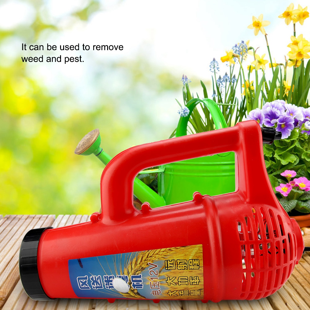 US $25 51 44% OFF|New Style Electric Handheld Garden Sprayer Blower  Agriculture Weed Pest Control Killer Garden Watering Irrigation Supplies  12V-in
