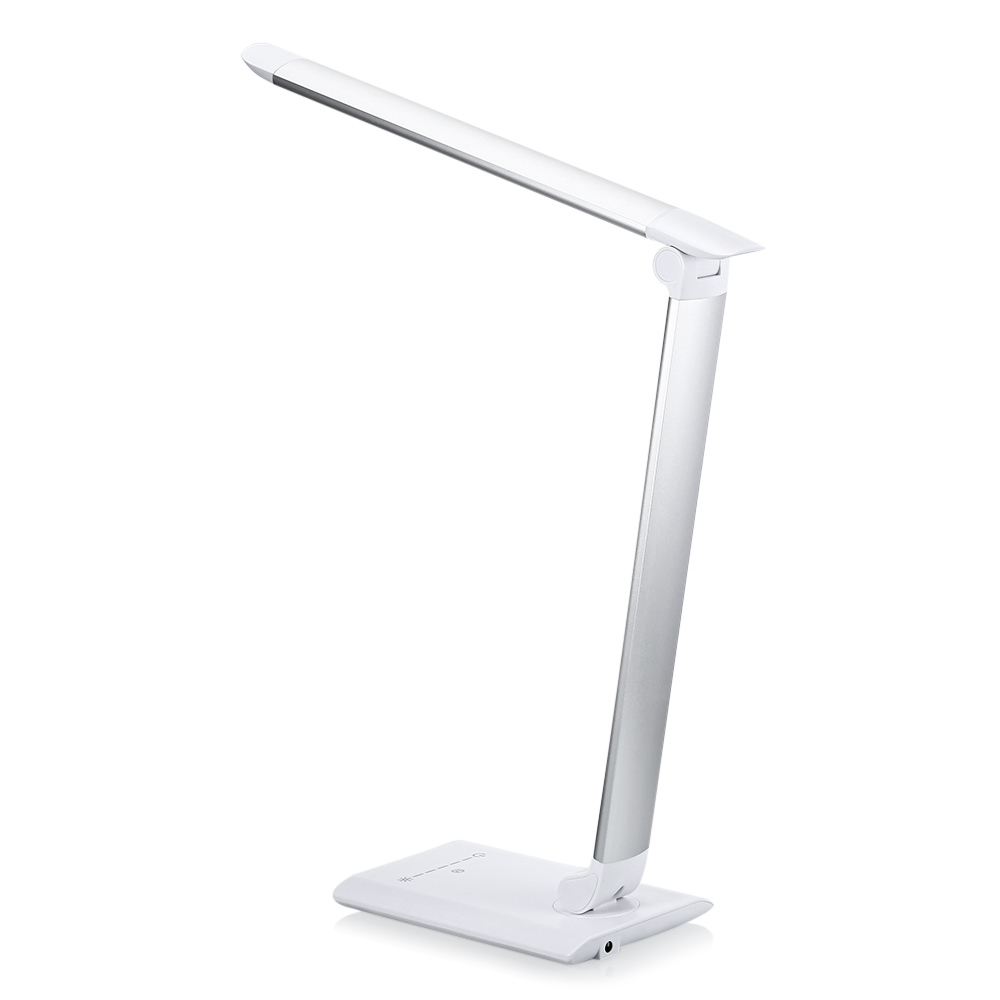 220v/110v Led Desk Lamp Touch Control 7 Level Brightness Dimmable Table Light For Bedroom Studying Office Eu/us Plug Desk Lamps