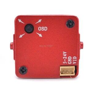 Image 5 - Actualizado HD Mista 800TVL CCD de 2,1mm de ancho ángulo HD 1080P 16:9 OSD Cámara FPV PAL/NTSC conmutable para modelo quadcopter RC Drone