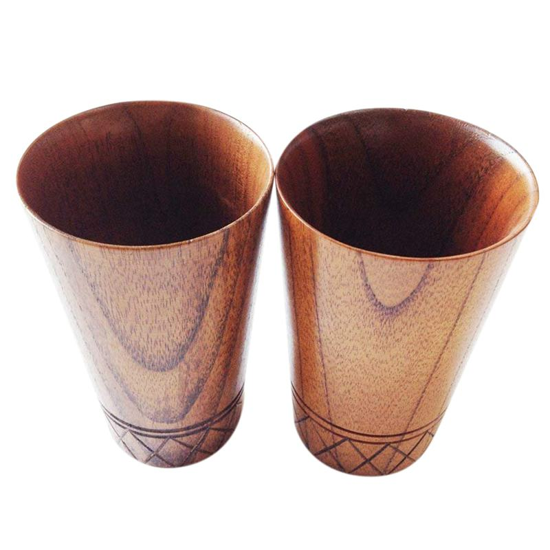 Carved Wood Grain Decor Drinking Cup Wooden cup decoration mug drinking cup coffee mug milk cup