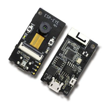 LEORY ESP-EYE Wi-Fi bluetooth AI Development Board Supports Face Detection Voice Wake-up with Camera Circuits