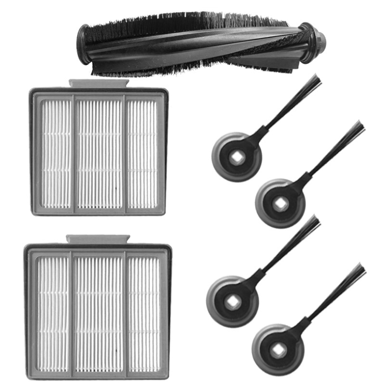 7 Pcs/lot Replacement Brushroll & Hepa Filter & Side Brush For Shark Ion Robot Rv700_n Rv720_n Rv850 Rv851wv Rv850brn/wv Vacuu With The Best Service Home Appliance Parts