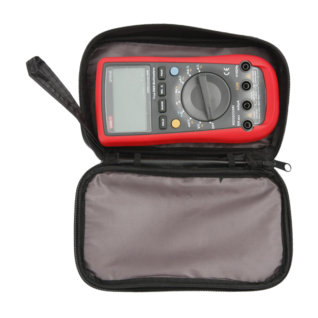 20*12*4cm Waterproof Tools Bag Multimeter Black Canvas Bag For UT61 Series Digital Multimeter Cloth Durable