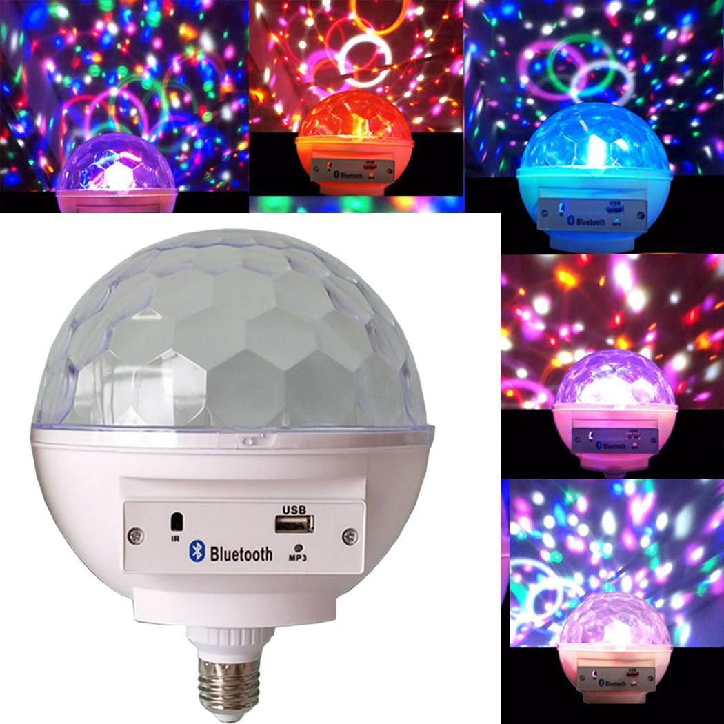Lampe à distance 0 4 LED bluetooth lumière blanche RGB 550 Lumens 85 ampoule 10 M musique contrôle multicolore 265 V ampoules intelligentes