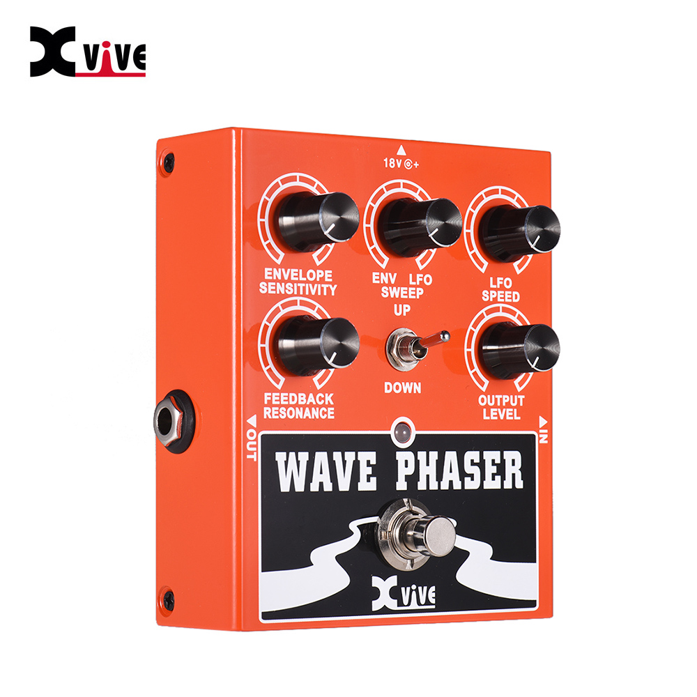 XVIVE W1 Wave Phaser Guitar Effect Pedal True Bypass Full Metal Shell