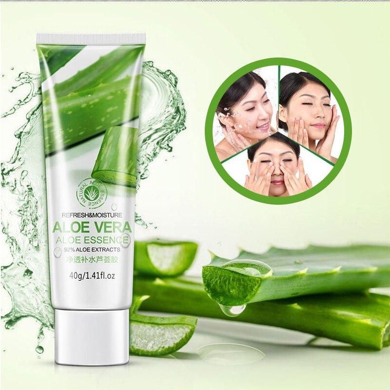 BIOAQUA Aloe Vera Gel Face Moisturizer Anti Wrinkle Cream Acne Scar Skin Whitening Skin Care Sunscreen Acne Treatment Cosmetics