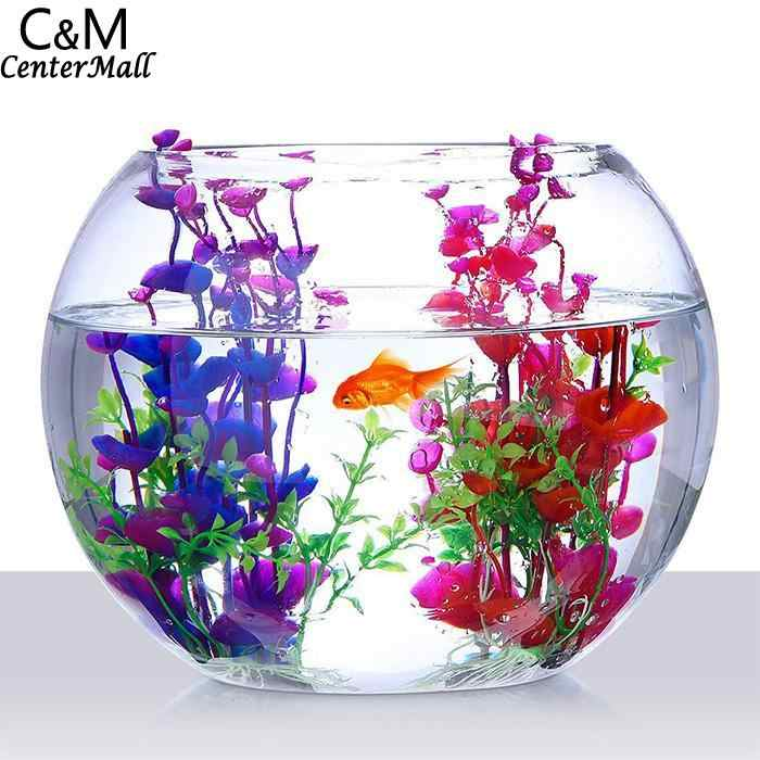 Non-Toxic Aquarium Green Artificial Plants Fish Home, Store, etc Tank, Aquarium, etc Tank Decoration 78g