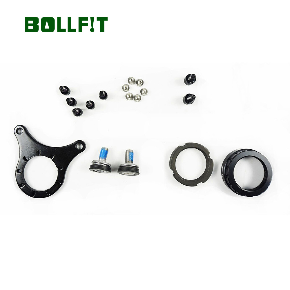 68-100mm Electric Bicycle Assembling Components Mountain Bike Plate Installation Parts For Bafang Mid Motor Kit