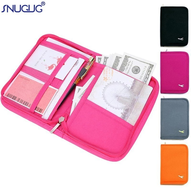 D DOLITY Pack of 20 Passport Holder Organizer Documents Card Case Protector Storage Cover Travel Wallet