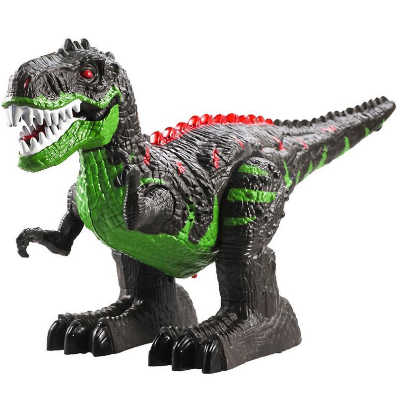 Jouets éducatifs 2.4g Sans Fil Télécommande Électrique Tyrannosaurus Simulation Télécommande Dinosaure Cadeau Frais Pour Les Enfants