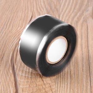 0,5/1,5/3 м многофункциональная самоклеящаяся прочная черная резиновая силиконовая ремонтная Водонепроницаемая склеивающая лента спасательная самоплавляющаяся проволока