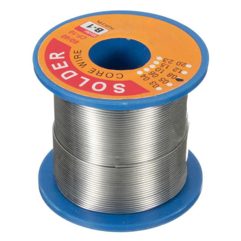 250g 60/40 0.8 مللي متر القصدير الرصاص لحام بكرة أسلاك اللحيم الصنوبري الأساسية ل لوحة دوائر كهربائية الالكترونيات الأجهزة دائم