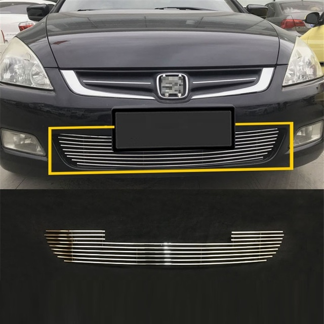 Automovil Styling Exterior Upgraded Car Accessories Racing Grills 03 04 05 06 07 08 09 10 11 12 13 18 FOR Honda Accord