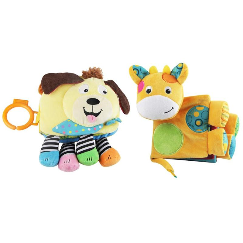 Poussette éducative pour bébé hochet jouet pour enfants literie livres en tissu doux bruissement son nouveau-né lit de berceau bébé jouets 0-36 mois