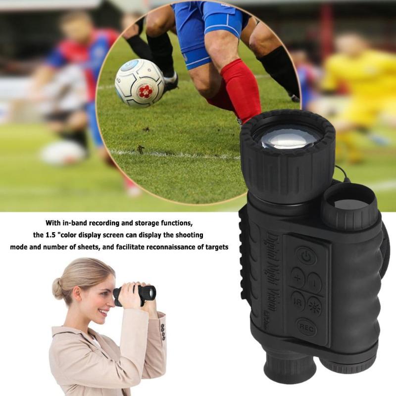 Digital PDE Night Vision Monocular IR Wildlife 6X50 5MP HD Camera Hunting Infrared 850NM Telescope