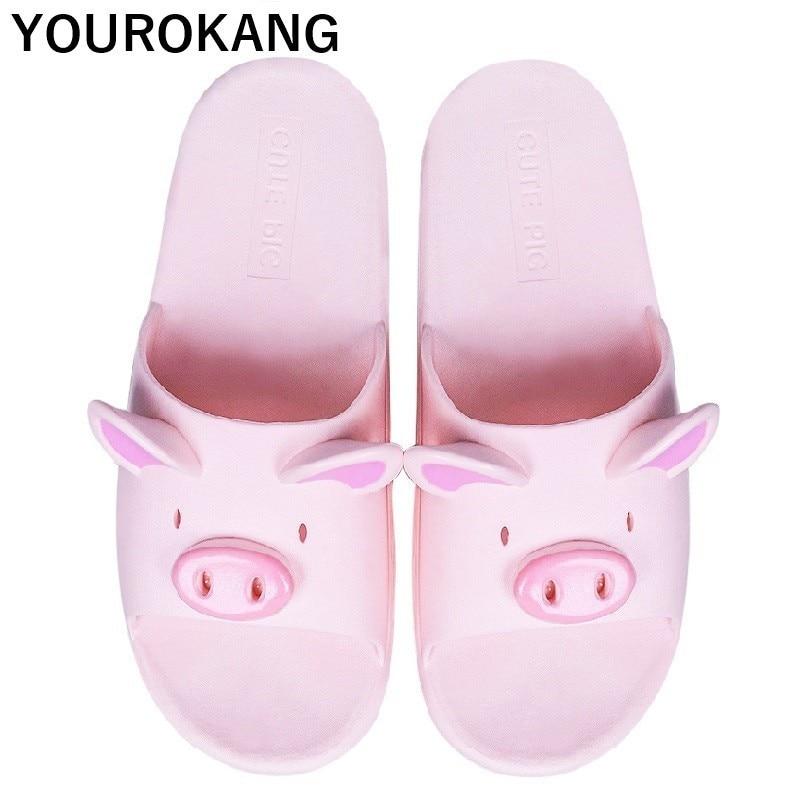 Piggy beach slippers