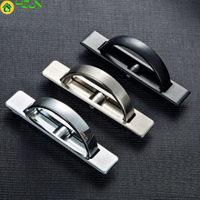 цены Tatami Door Knobs Furniture Hidden Recessed Flush Pull Cover Floor Cabinet Handles Need Slotted