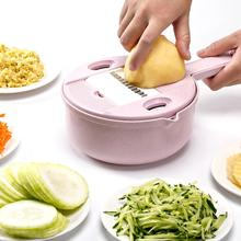 Multi-function 9 IN 1 Easy Food Chopper Carrot Potato Grater Manual Onion Cutter Easy Food Chopper Slicers Kitchen Gadget цена и фото