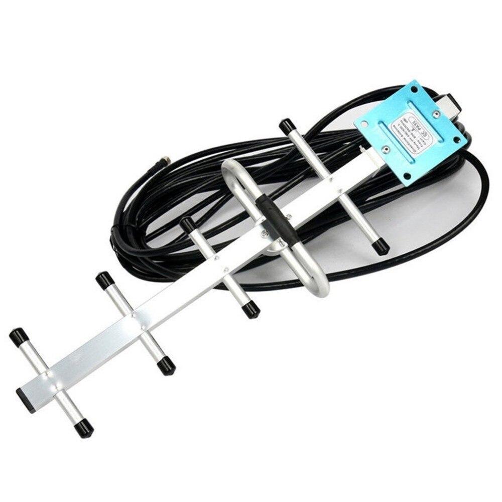 Reino Unido 850 MHz CDMA de señal de teléfono celular 3G 4G repetidor amplificador extensor + Yagi de señal de teléfono 3G 4G repetidor amplificador - 3