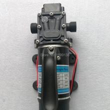 10LPM مضخة مياه كهربائية صغيرة عالية الضغط تيار مستمر 12 فولت 24 فولت مضخة مياه 120 واط مضخة مياه ذاتية الفتيلة مزودة بمروحة مدمجة