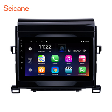 Seicane Android 8.1 Quad-core Car Radio Unit Player GPS Navi for 2008-2014 Toyota ALPHARD Vellfire ANH20 With 8 inch HD seicane android 6 0 5 inch car radio stereo navi gps unit player for 2001 2002 2003 2004 2005 2006 2007 chrysler 300m pt cruiser