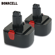 Bonacell 14.4V 3000mAh Battery for Lincoln Grease Gun 1401 1442 1444 40393 40394 1400 1444E L10