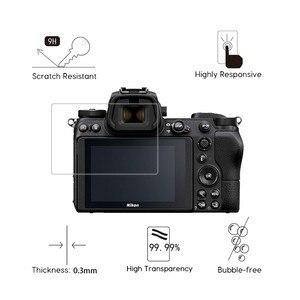 Image 2 - Cristal templado 2.5D 9H para cámara Digital Nikon COOLPIX Z7 Z6 Z50 P950 D6 D780 D7500 D7200 D7100 D850 D3500 película antiarañazos