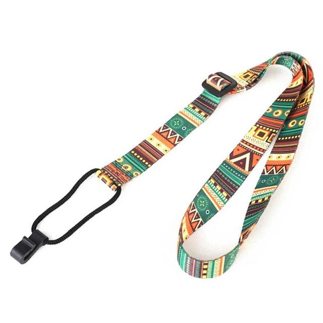 Ethnic Style Colorful Ukulele Strap Thermal Transfer Ribbon Durable Little Guitar Belt Musical Instrument Accessories 2