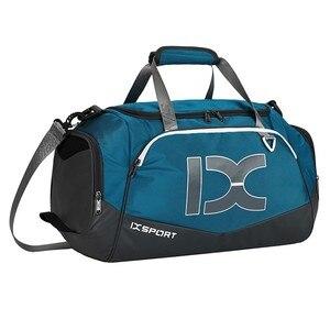 Image 2 - Sac à main imperméable 40l, sac pour gymnastique, sec et humide séparé, simple sac à bandoulière pour les entraînements, sac de voyage