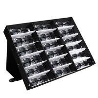 18 Slot Sun Glassess Reading Glasses Eyewear Display Stand Storage Box Case Glasses Display Case Storage Organizer Collector